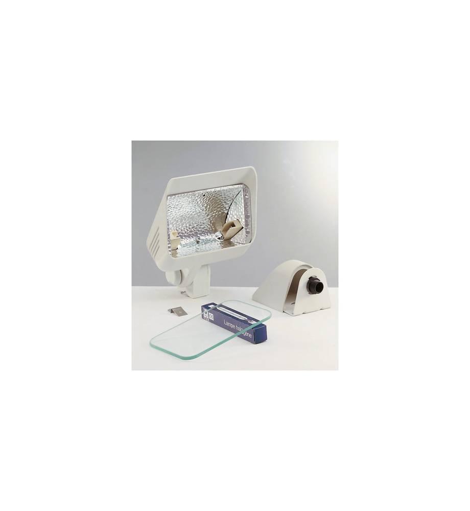Projecteur ext rieur halog ne r7s 230w aric daylite blanc for Halogene exterieur
