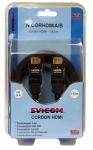 Cordon HDMI mâle/mâle de 1.83 mètres connecteurs articulés