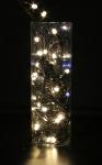 Guirlande 20M 200 LEDS bl chaud pétillantes blanches Festilight