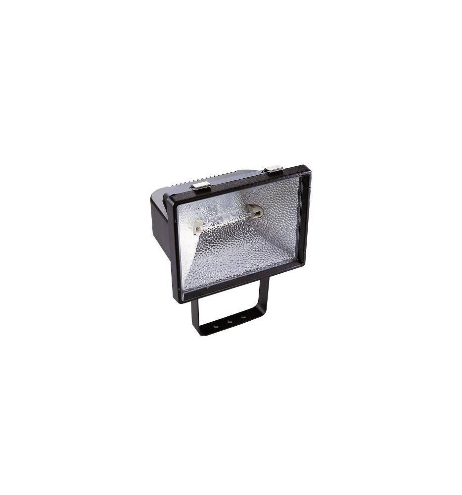 Projecteur ext rieur halog ne r7s 118 400w aric mx500 noir for Halogene exterieur