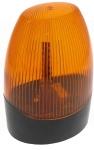 Clignotant à LED toutes tension - 12 - 24 et 230 Volts ovale