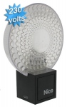 Clignotant NICE MLL 230 volts blanc