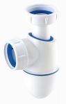 Siphon de lavabo - Bi-matière - BM211 - Nicoll 0201282