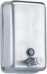 Distributeur de savon liquide - Inox - 850 ml - Fermeture à clé - Voyant de niveau - Pellet 878155