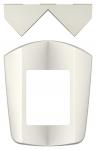 Fixation d'angle pour détecteur de mouvement Theben Theluxa - Blanc