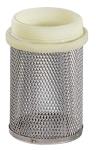 Crépine seule - Sans clapet - Diamètre 15 x 21 mm - Inox - Sferaco 392004
