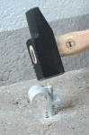 Collier cheville pour tube et gaine diamètre 20