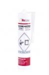 Silicone sanitaire acétique couleur blanc