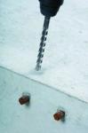 Foret béton SDS plus 10x100 mm 4 tranchants