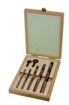 Coffret 7 forets bois cylindriques