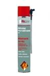 Mousse PU expansive résistante au feu pistolable 750 ml rouge