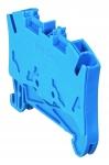 Bloc Viking 3 - 1 jonction - 1 entrée / 1 sortie - 4 mm² - Bleu - A ressort - P6